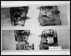 Primary view of object titled '[Photograph of Men in a Forest]'.