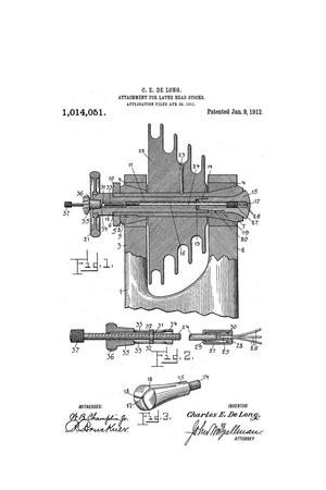Primary view of object titled 'Improvements in Attachments for Lathe Head-Stocks'.