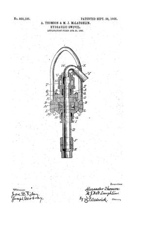 Primary view of object titled 'Hydraulic Swivel'.