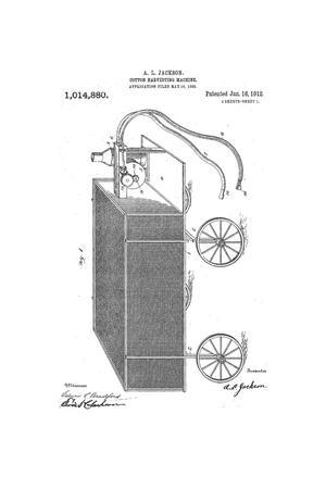 Primary view of Cotton Harvesting Machine