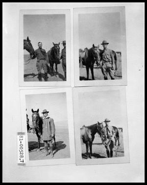 Primary view of object titled 'Two Men with Horse; Man with Horse; Man with Two Horses; Man with Two Horses'.