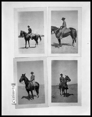 Primary view of object titled 'Man on Horse'.