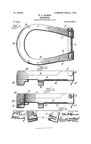Primary view of object titled 'Horseshoe'.