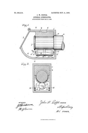 Primary view of object titled 'Journal Lubricator'.