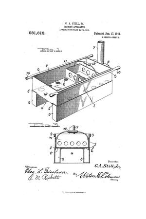Primary view of object titled 'Canning Apparatus.'.