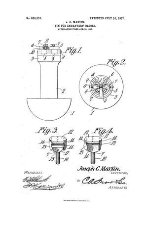 Pin for Engravers' Blocks.