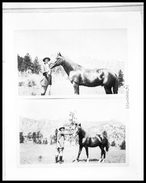 Primary view of object titled 'Woman with Horse'.