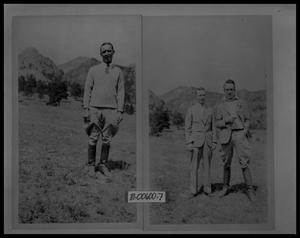Primary view of object titled 'Man in Field; Two Men in Field'.