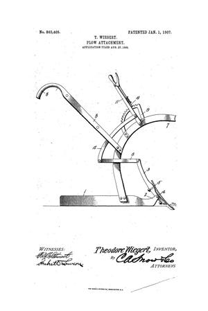 Primary view of object titled 'Plow Attachment'.