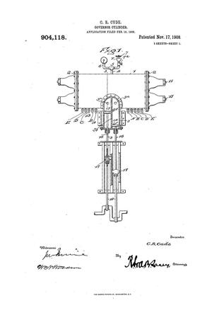 Primary view of object titled 'Governor-Cylinder.'.