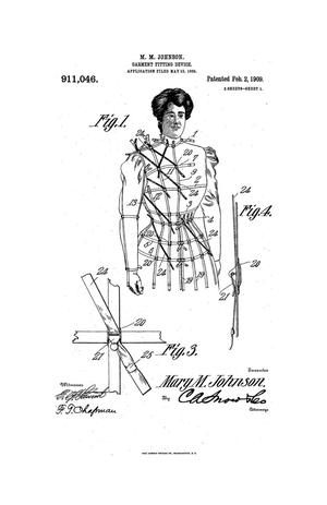 Primary view of object titled 'Garment-Fitting Device.'.