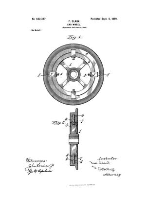 Primary view of object titled 'Car-Wheel.'.