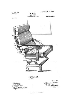 Primary view of object titled 'Car-Seat.'.