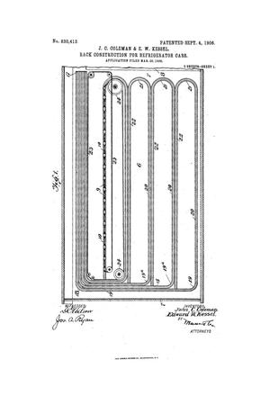 Primary view of object titled 'Rack Construction for Refrigerator-Cars.'.