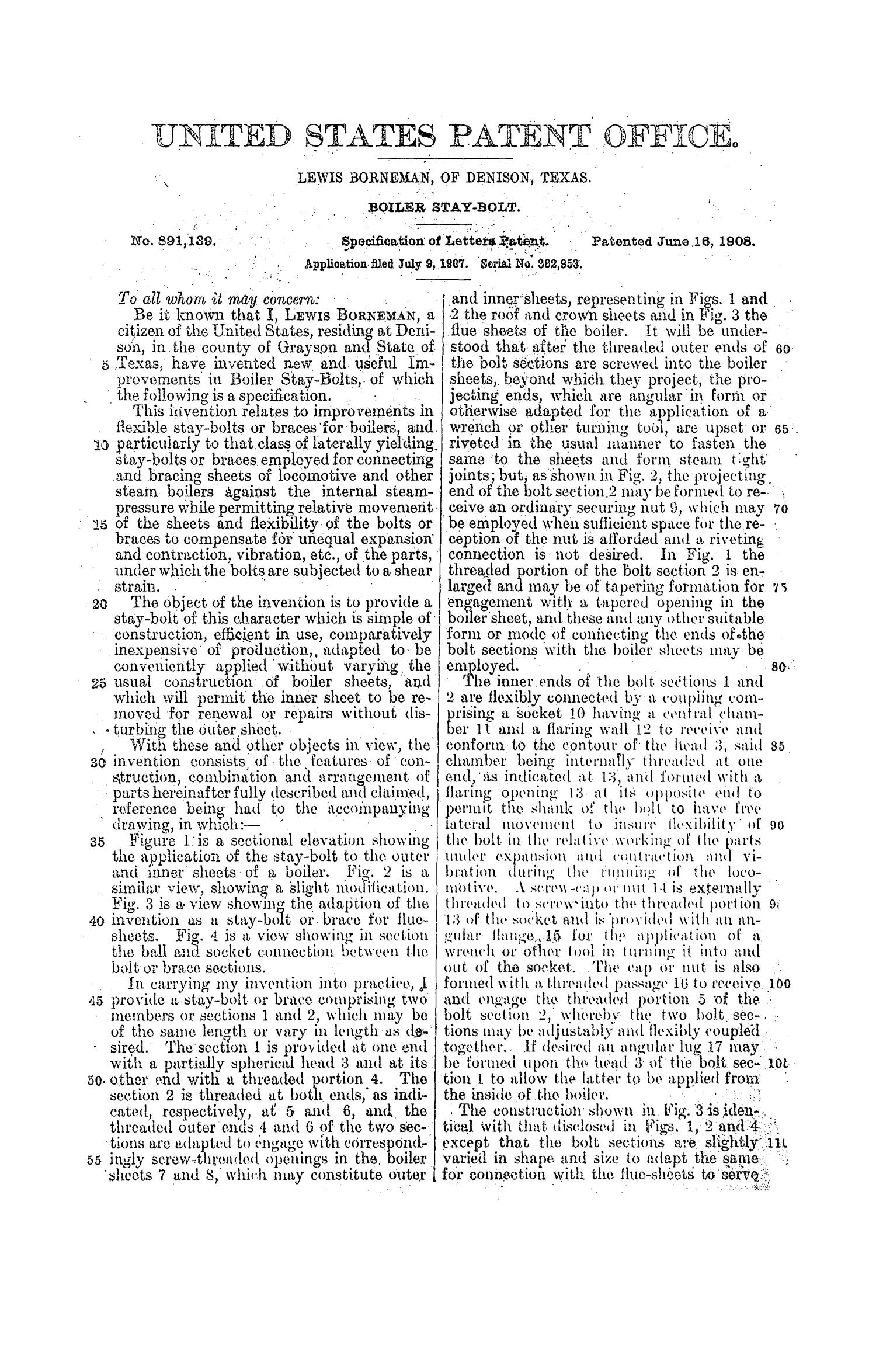 Boiler Stay Bolt - Page 2 of 3 - The Portal to Texas History