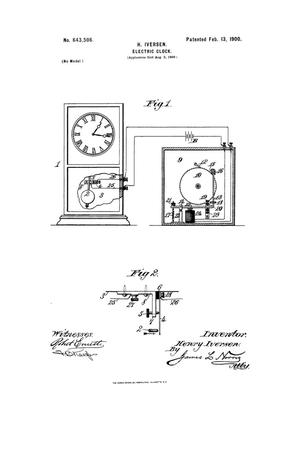 Primary view of object titled 'Electric Clock.'.