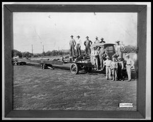 Primary view of object titled 'Work Crew on Truck'.