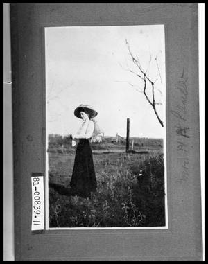 Primary view of object titled 'Young Woman in Field'.