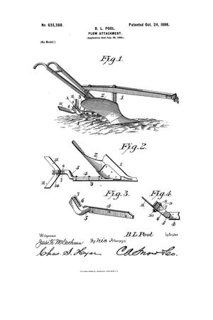 Primary view of object titled 'Plow Attachment.'.