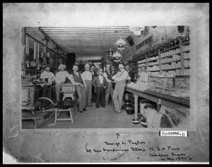 Primary view of object titled 'Business Interior with Staff'.