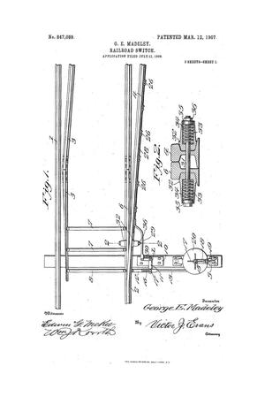 Primary view of object titled 'Railroad-Switch.'.