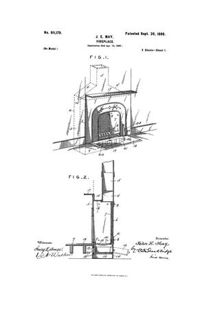 Primary view of object titled 'Fireplace.'.