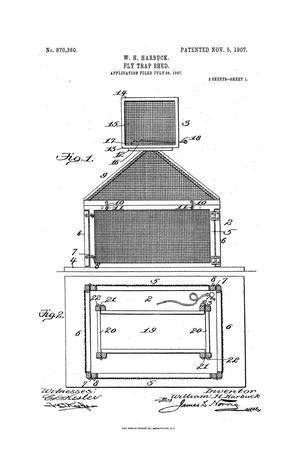 Primary view of object titled 'Fly-Trap Shed'.