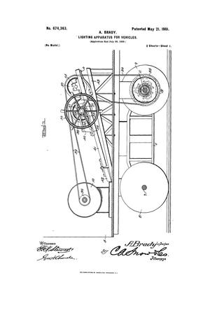Primary view of object titled 'Lighting Apparatus for Vehicles.'.