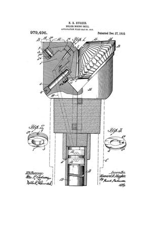 Primary view of object titled 'Roller Boring-Drill'.