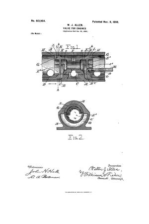 Primary view of object titled 'Valve for Engines.'.