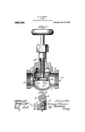 Primary view of object titled 'Valve'.