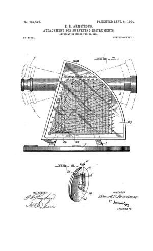 Primary view of object titled 'Attachment For Surveying Instruments'.