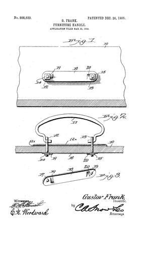 Furniture-Handle., Furniture Handle.