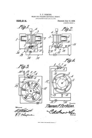 Primary view of object titled 'Means for Utilizing Electrical Energy'.