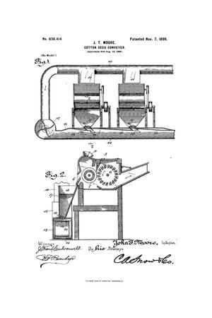 Primary view of object titled 'Cotton-Seed Conveyer.'.