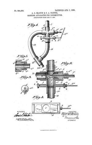 Primary view of object titled 'Sanding Apparatus for Locomotives.'.