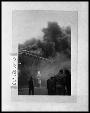 Primary view of object titled 'Building on Fire #2'.