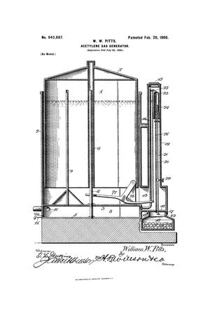 Primary view of object titled 'Acetylene-Gas Generator.'.