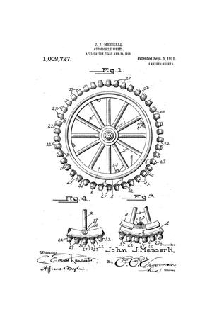 Primary view of object titled 'Automobile-Wheel'.
