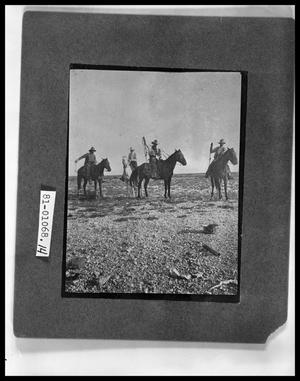 Primary view of object titled 'Cowboys Roping'.