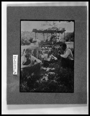 Primary view of object titled 'Men at a Picnic in front of Surrey'.