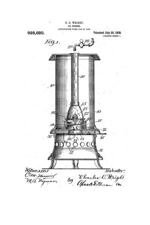 Primary view of object titled 'Oil-Burner.'.