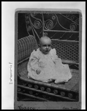 Primary view of object titled 'Portrait of Baby'.