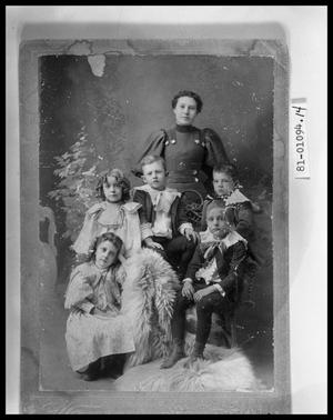 Primary view of object titled 'Portrait of Mother with Five Children'.
