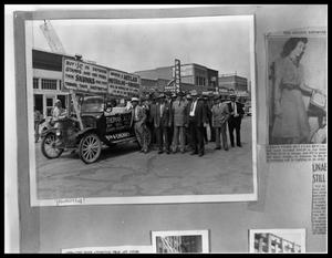 Primary view of object titled 'Group of Men with Truck'.