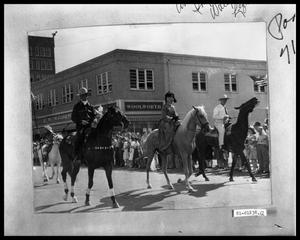 Primary view of object titled 'Parade, Horses'.