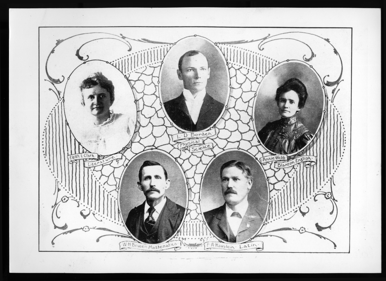 North Texas State Normal College faculty, 1905.                                                                                                      [Sequence #]: 1 of 1