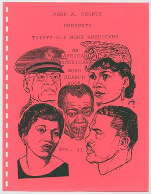 Thirty-Six More Americans: An African-American Word Search Book, Volume 2
