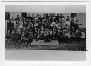 Primary view of object titled 'Demonstration School Students'.