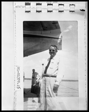 Primary view of object titled 'Man on Runway'.